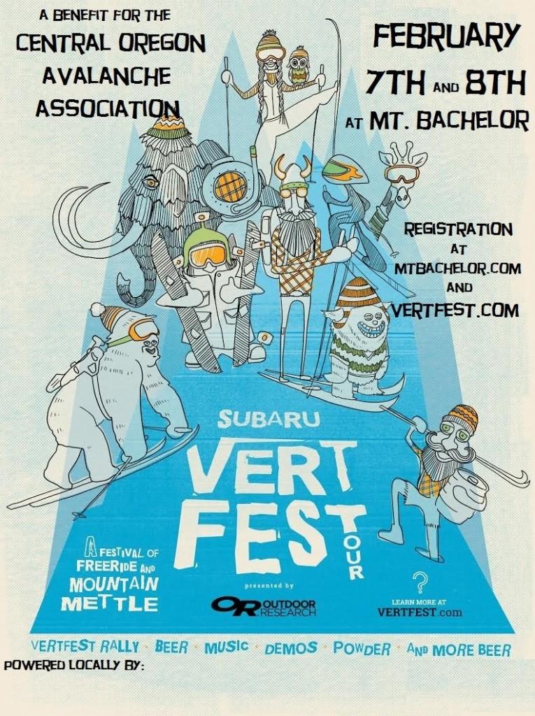 Vertfect Bend Poster 2015