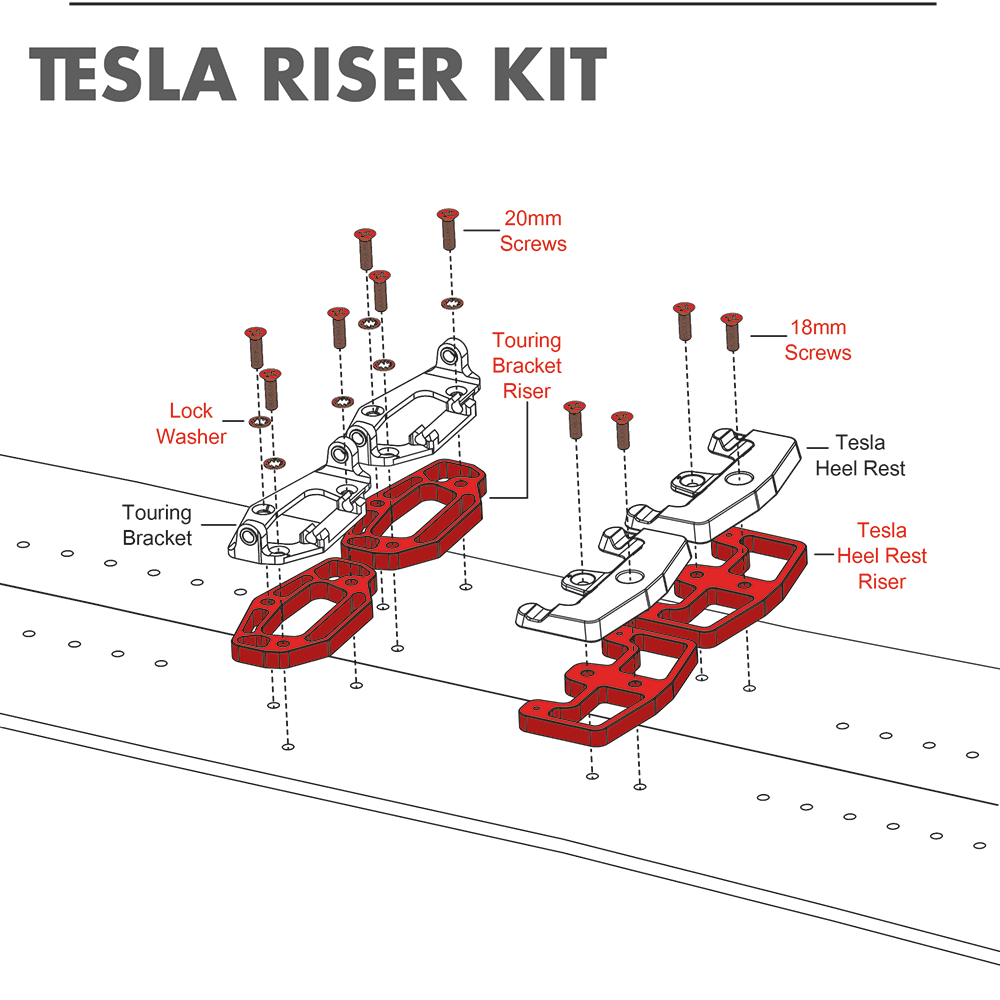 Tesla-Riser-Kit-Exploded-View