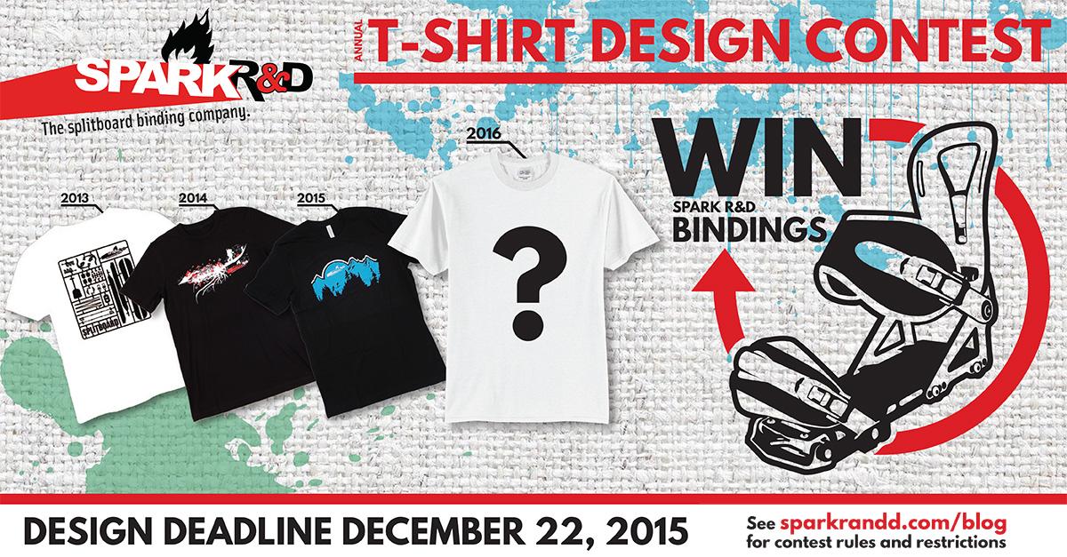 Spark R&D Annual T-Shirt Design Contest - Spark R&D