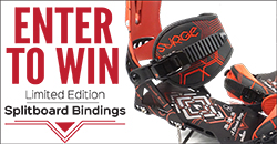 Enter to Win Limited Edition Splitboard Bindings