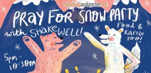 Pray for Snow 2017 Poster
