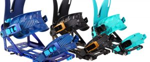 Arc splitboard bindings