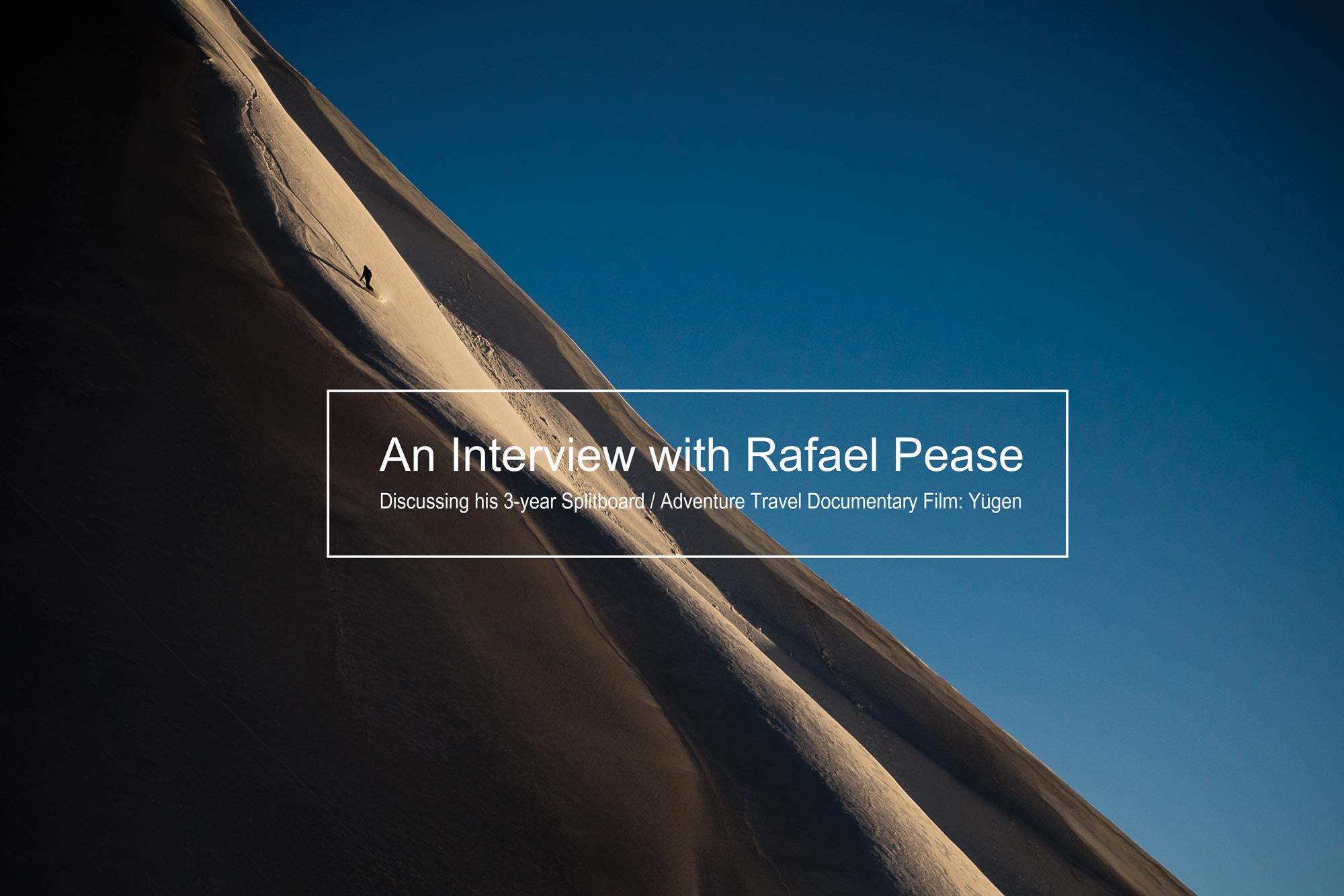 An Interview with Rafael Pease banner