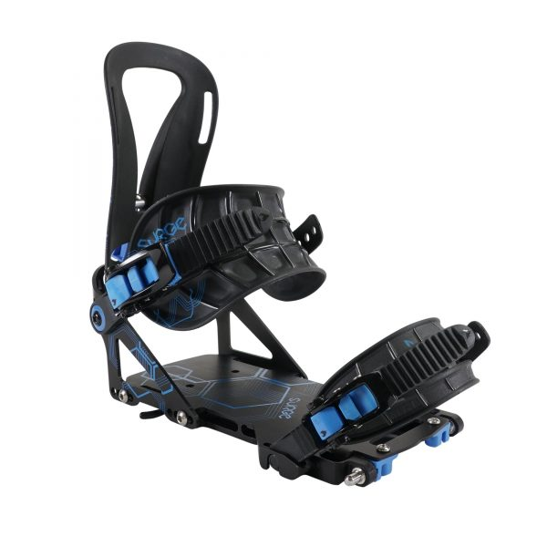 Surge Blue Splitboard Bindings