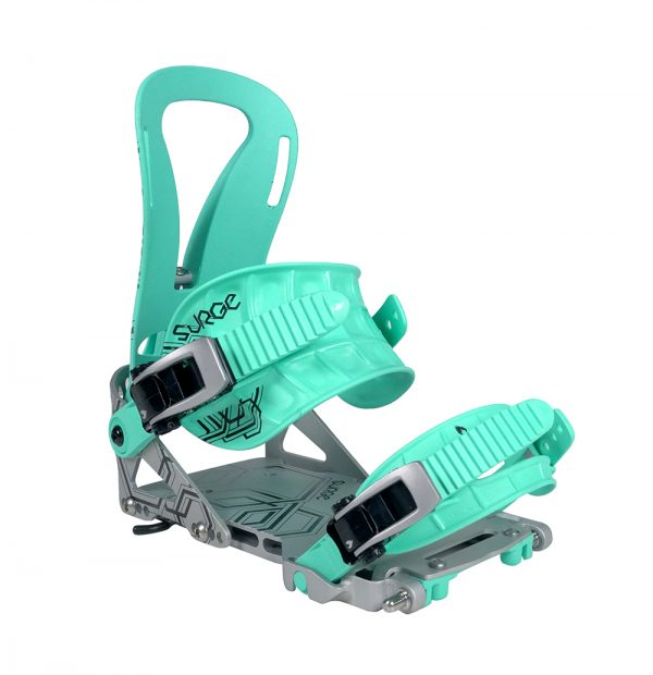 Womens Mint/Metal Surge Splitboard Binding
