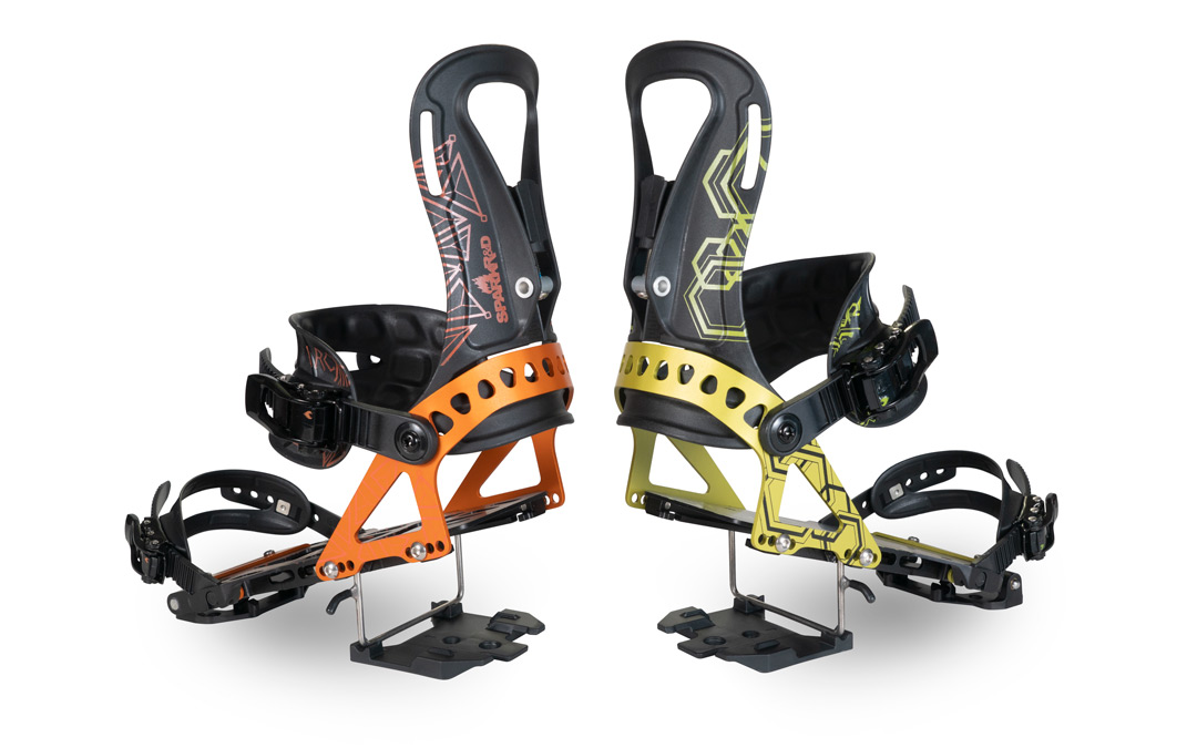 Arc and Surge Splitboard bindings