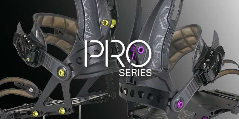 Pro series splitboard bindings