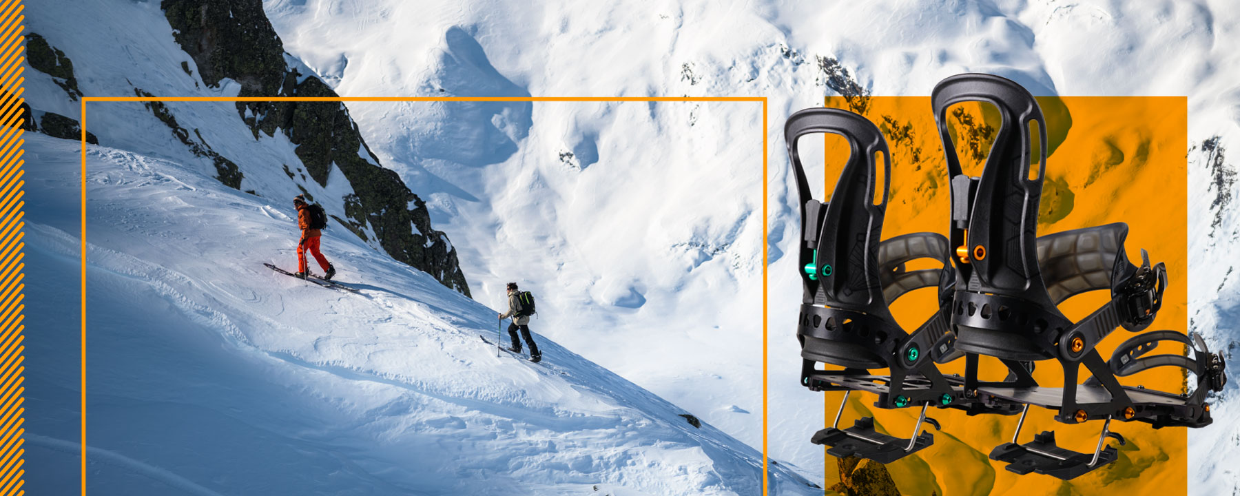 luca pandolfi and thomas delfino splitboard touring slider image