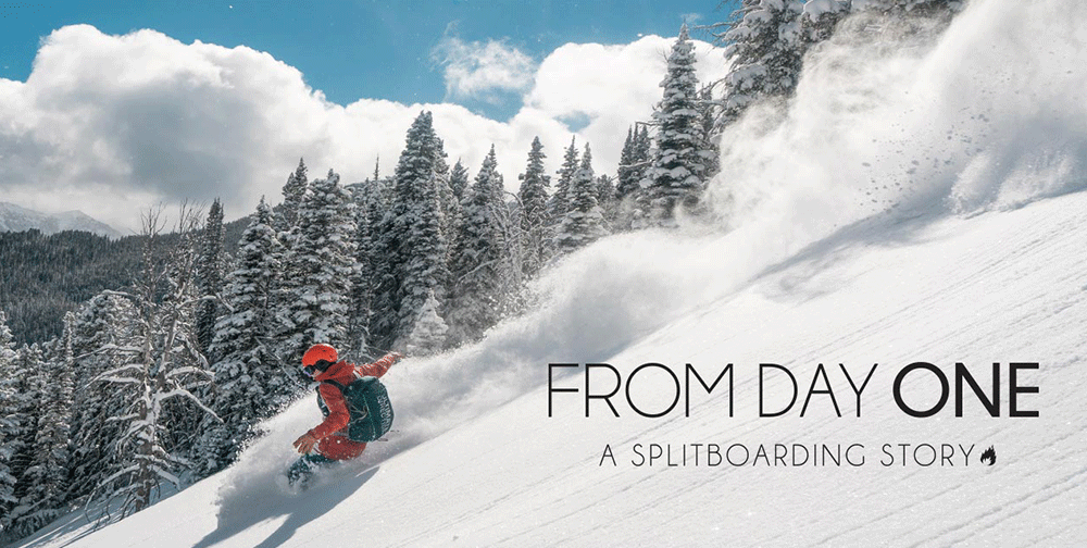 From Day One Image Will Ritter Splitboarding