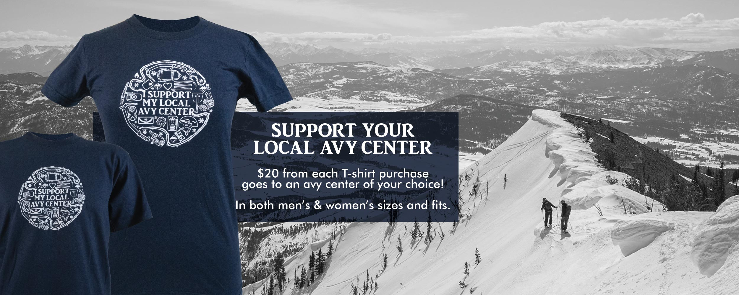 Avalanche Center support slider image